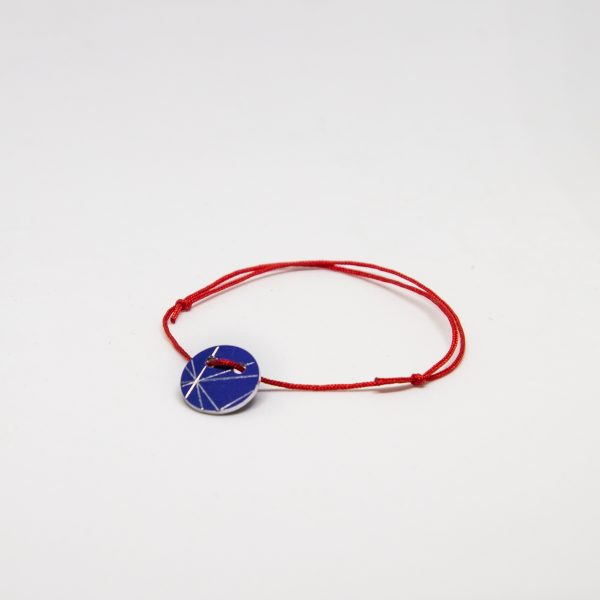 stars bracelet kék karkötő