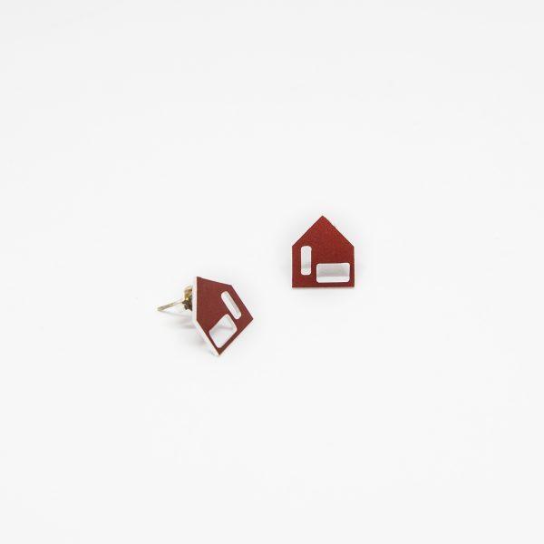 moona casa piros fülbevaló
