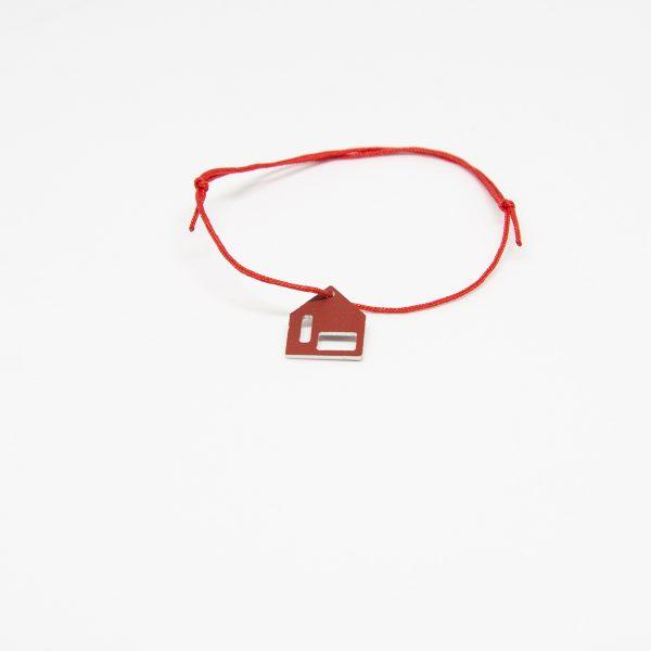 casa bracelet piros karkötő