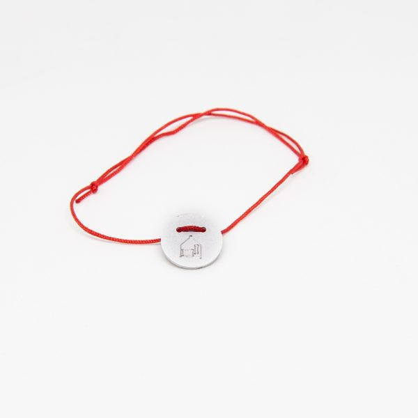 casa bracelet round ezüst karkötő