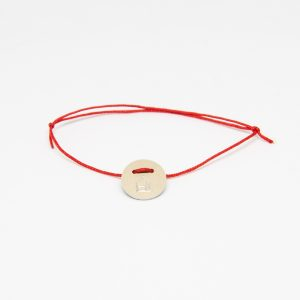 casa bracelet round bronz karkötő