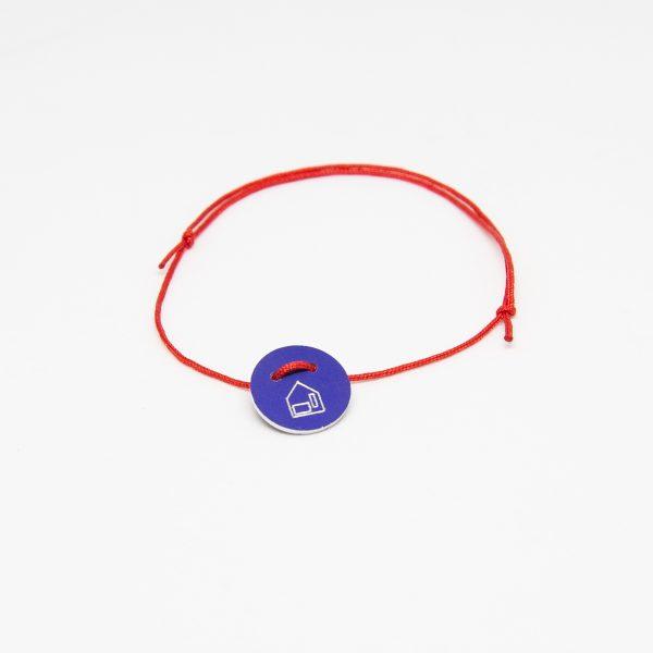 casa bracelet round kék karkötő